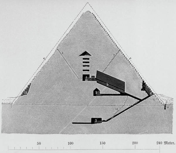 Giza Photograph - The Great Pyramid by Science Photo Library