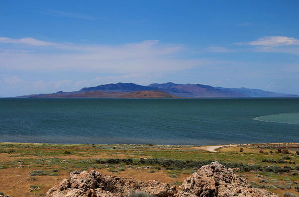Photograph - The Great Salt Lake by Jemmy Archer