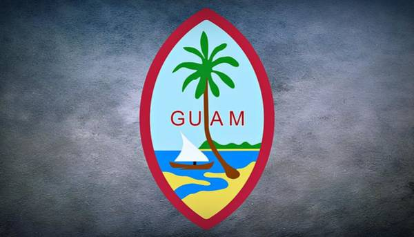 United States Territory Photograph - The Great Seal Of Guam Territory Of Usa  by Movie Poster Prints