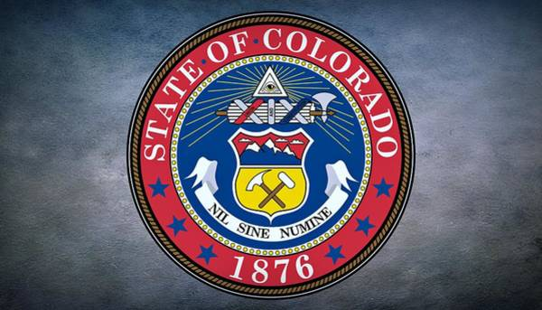 Photograph - The Great Seal Of The State Of Colorado by Movie Poster Prints