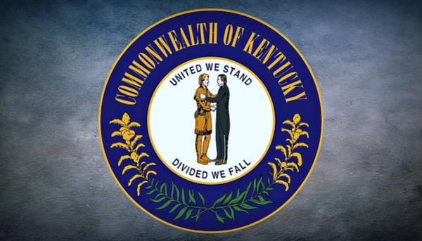 Wall Art - Photograph - The Great Seal Of The State Of Kentucky  by Movie Poster Prints