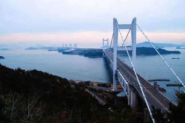 Okayama Prefecture Photograph - The Great Seto Bridge by Kiyoto Sekimoto