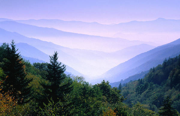 Southern Usa Photograph - The Great Smoky Mountains National Park by John Elk