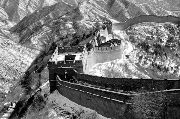 Asian Photograph - The Great Wall Of China by Sebastian Musial