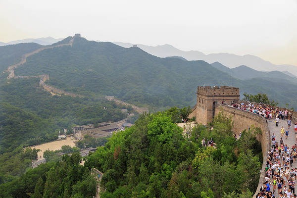 Beijing Photograph - The Great Wall, Qianjiadian Scenic by Stuart Westmorland