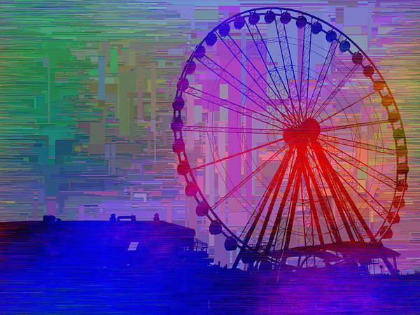 Elliott Digital Art - The Great  Wheel Cubed by Tim Allen