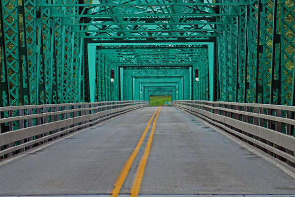 Photograph - The Green Bridge by Lily K