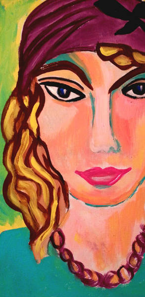 Painting - The Green Light by Nikki Dalton