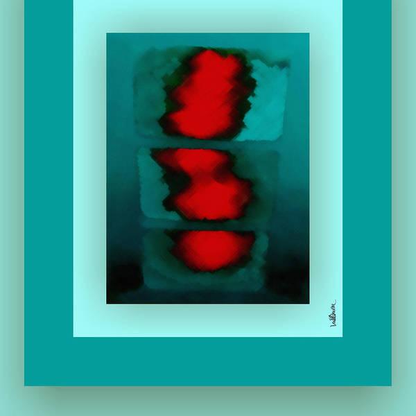 Digital Art - The Green Shine by Mihaela Stancu