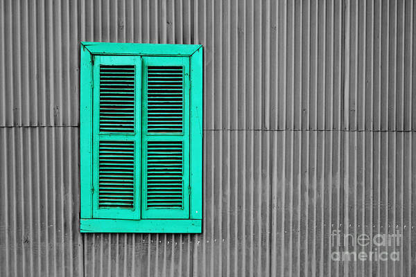 Photograph - The Green Window by James Brunker