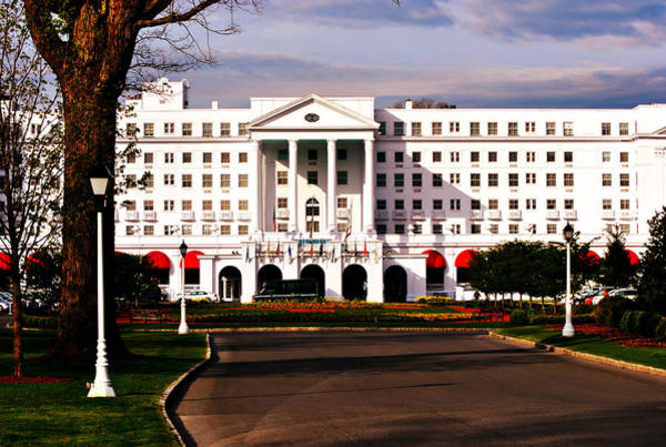 Exquisite Photograph - The Greenbrier Resort by Chastity Hoff