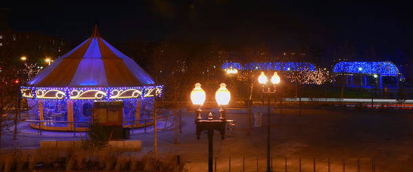 Photograph - The Greenway Carousel - Boston by Joann Vitali