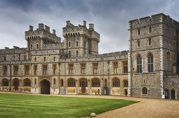Photograph - The Grounds Of Windsor Castle by Kim Andelkovic