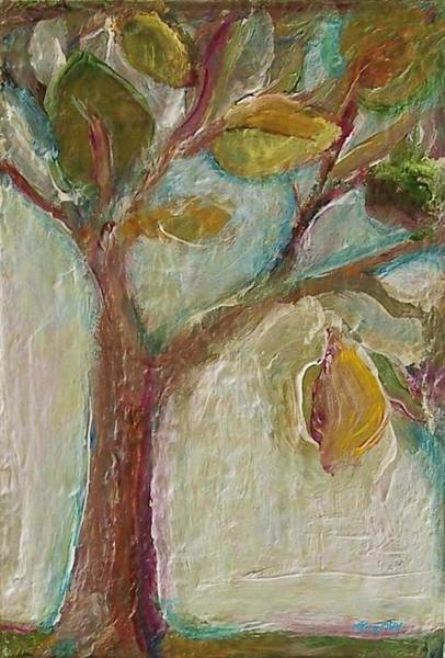 Painting - The Growing Tree by Mary Wolf