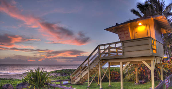 Photograph - The Guard Tower by Brad Scott