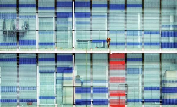 Balcony Photograph - The Guardian by Alfonso Novillo