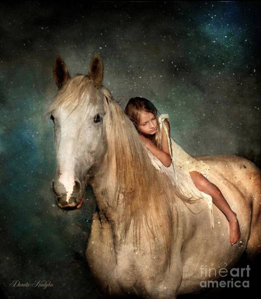 Livestock Photograph - The Guardian Angel by Dorota Kudyba