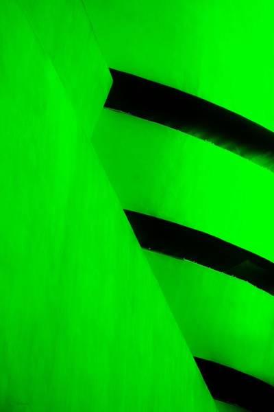 Photograph - The Guggenheim Color Collection In White Green by Rob Hans