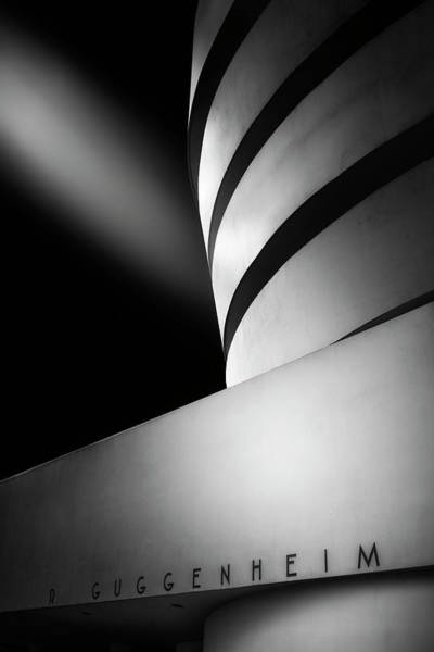 Museum Photograph - The Guggenheim Museum by Jorge Ruiz Dueso