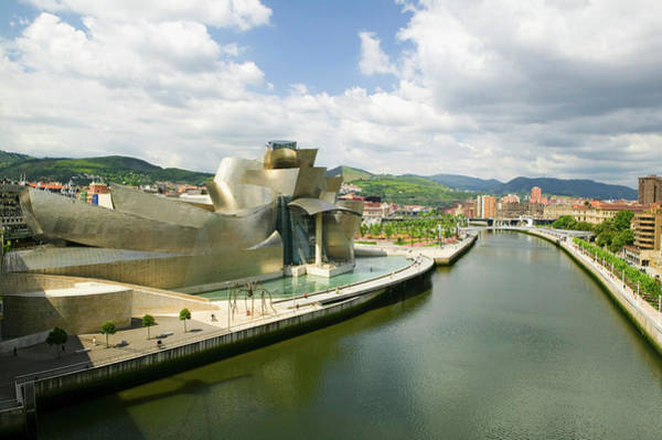 Bilbao Photograph - The Guggenheim Museum Of Contemporary by Panoramic Images