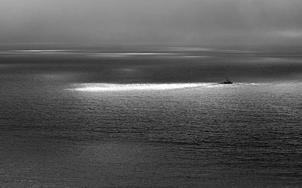 Photograph - The Guiding Light by AJ  Schibig