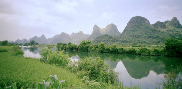Photograph - The Guilin Mountains In China by Shaun Higson