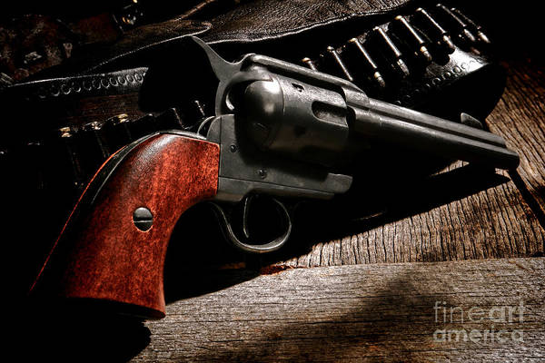 Colt Photograph - The Gun That Won The West by Olivier Le Queinec