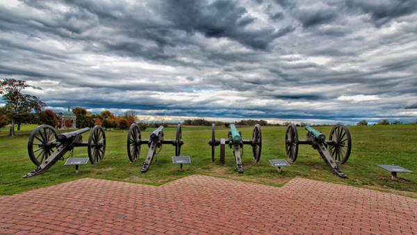 Photograph - The Guns Of Antietam by John M Bailey