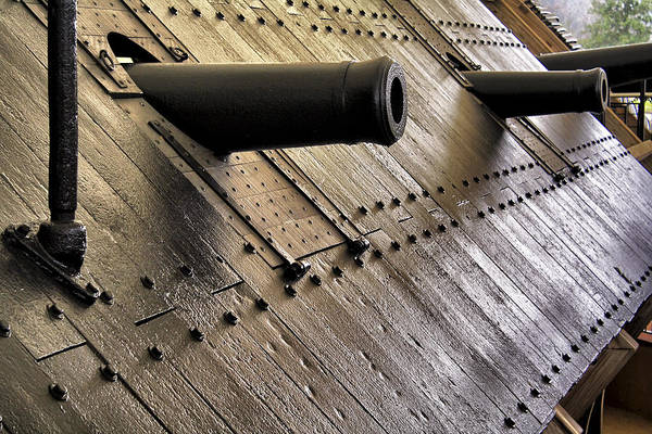 Photograph - The Guns Of The Uss Cairo by Jason Politte
