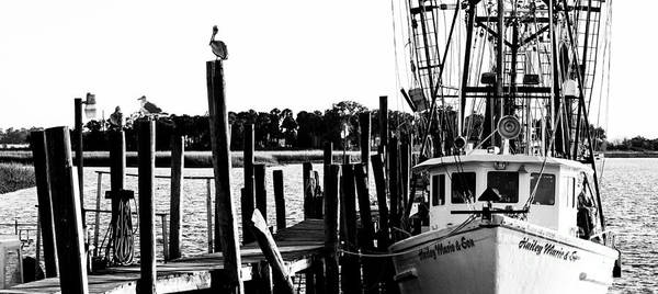 Photograph - The Hailey Marie And Son Shrimp Boat by Donnie Whitaker