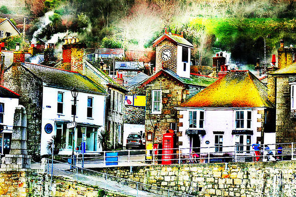 Penwith Photograph - The Hamlet Of Mousehole Cornwall by Terri Waters