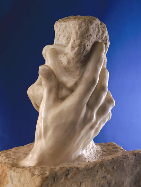 Genesis Photograph - The Hand Of God, 1898 Marble by Auguste Rodin