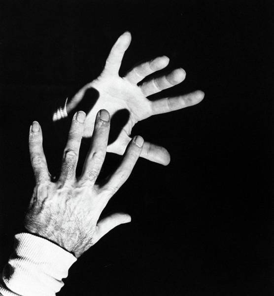 Gesture Photograph - The Hands Of Dr. Michael Debakey by Horst P. Horst