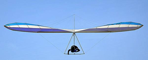 Photograph - The Hang Glider by AJ  Schibig