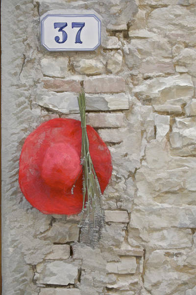 Photograph - The Hanging Red Hat by David Letts