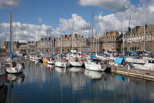 Wall Art - Photograph - The Harbor At St Malo by W Chris Fooshee
