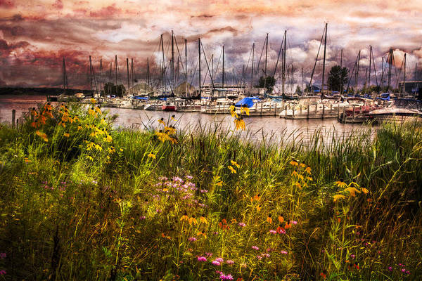 Holland Michigan Wall Art - Photograph - The Harbor by Debra and Dave Vanderlaan