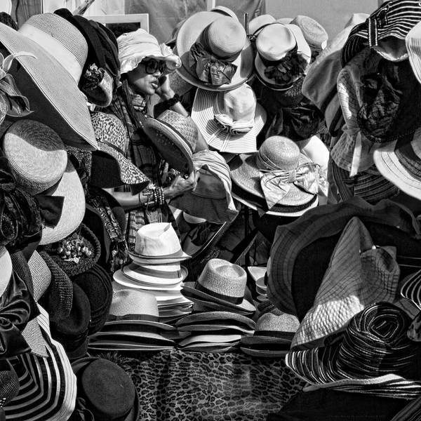 Millinery Photograph - The Hat Box by Chrystyne Novack