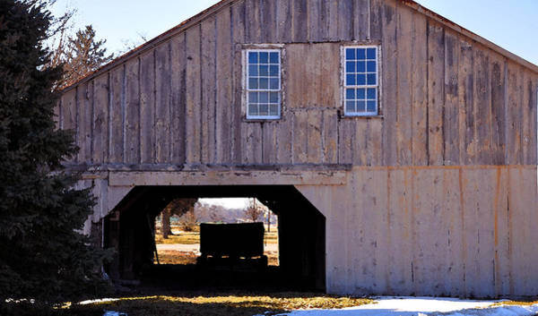 Amana Wall Art - Painting - The Hay Barn by Kirt Tisdale