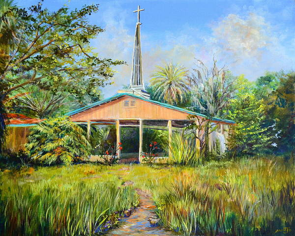 The Healing Chapel Art Print