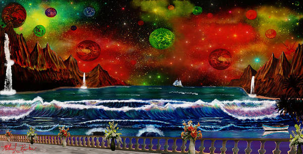 Ocean Wall Art - Painting - The Heavens by Michael Rucker