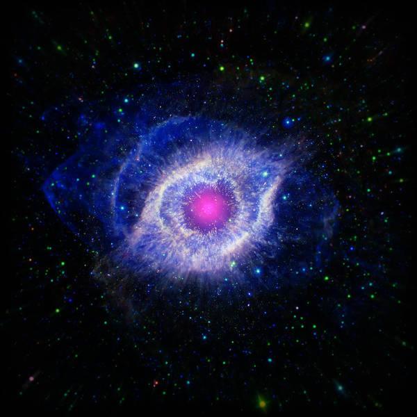 Wall Art - Photograph - The Helix Nebula  by Jennifer Rondinelli Reilly - Fine Art Photography