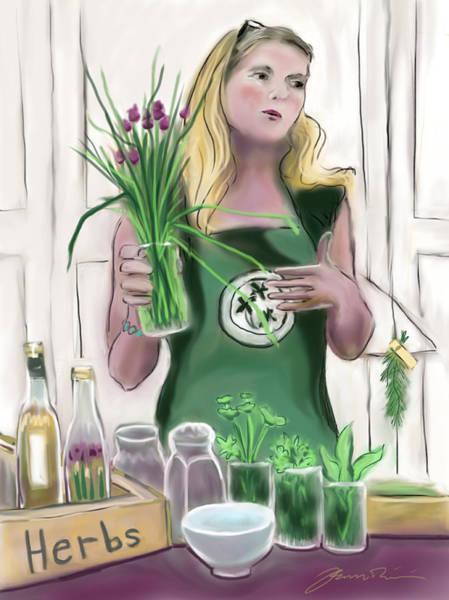 Painting - The Herbalist by Jean Pacheco Ravinski