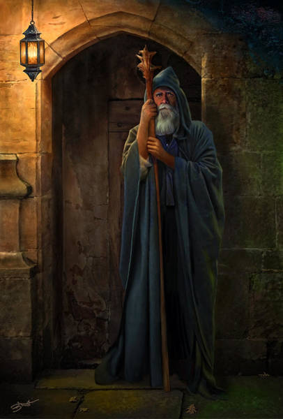 Digital Art - The Hermit by Bob Nolin
