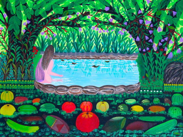 Painting - The Hidden Water by Lorna Maza