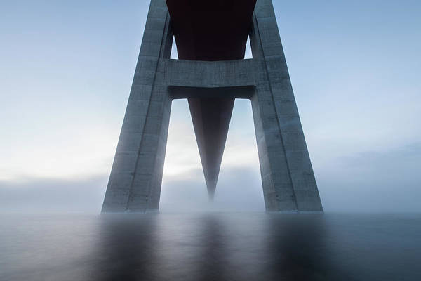 Wall Art - Photograph - The High Coast Bridge by Joakim Orrvik