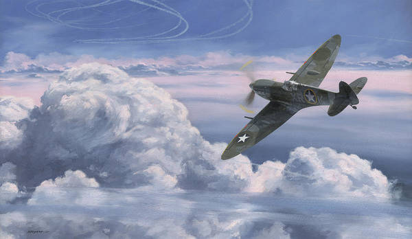 Air War Painting - The High Country by Wade Meyers