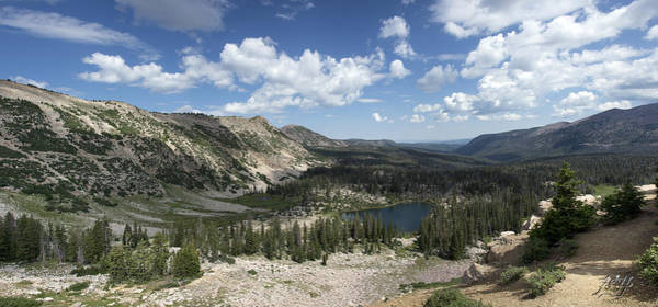 Photograph - The High Uintas by Kenneth Hadlock