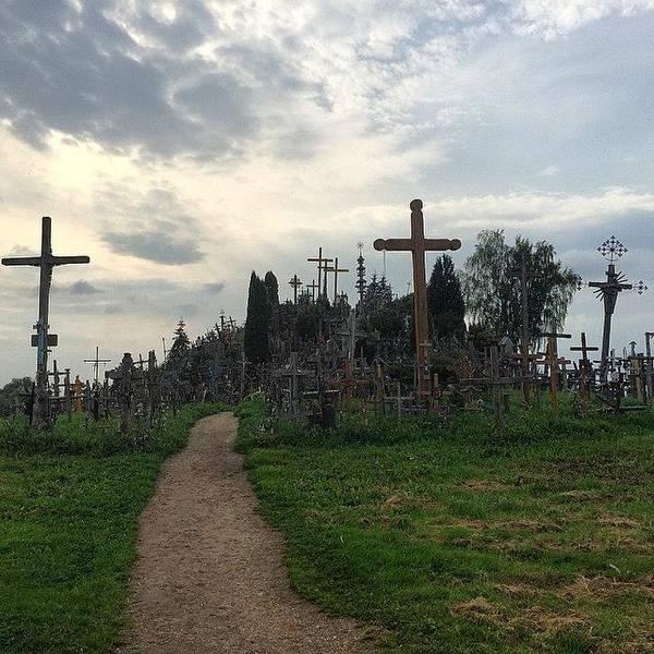 Japan Photograph - The #hill Of #crosses (#kryžių by Ryoji Japan
