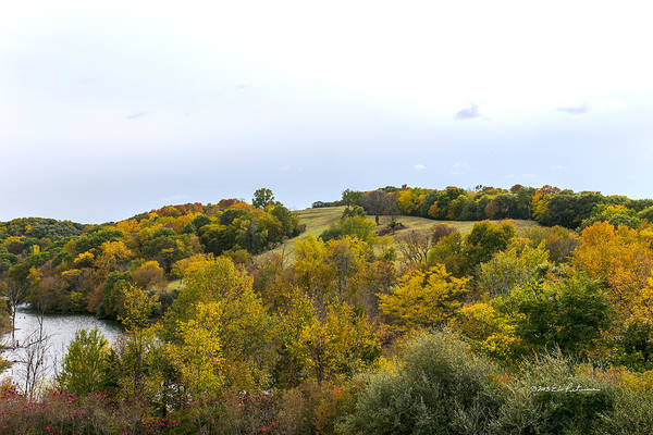 Photograph - The Hills Of Autumn by Edward Peterson